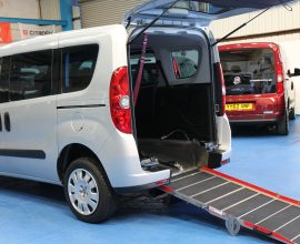 Doblo wheelchair vehicle yx61 ojs