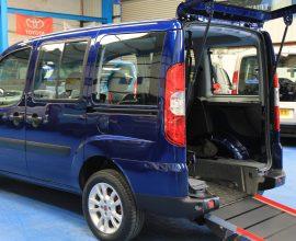 Doblo wheelchair vehicle yx60 rdu