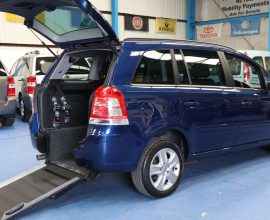 Zafira Wheelchair Vehicle nv61 bys