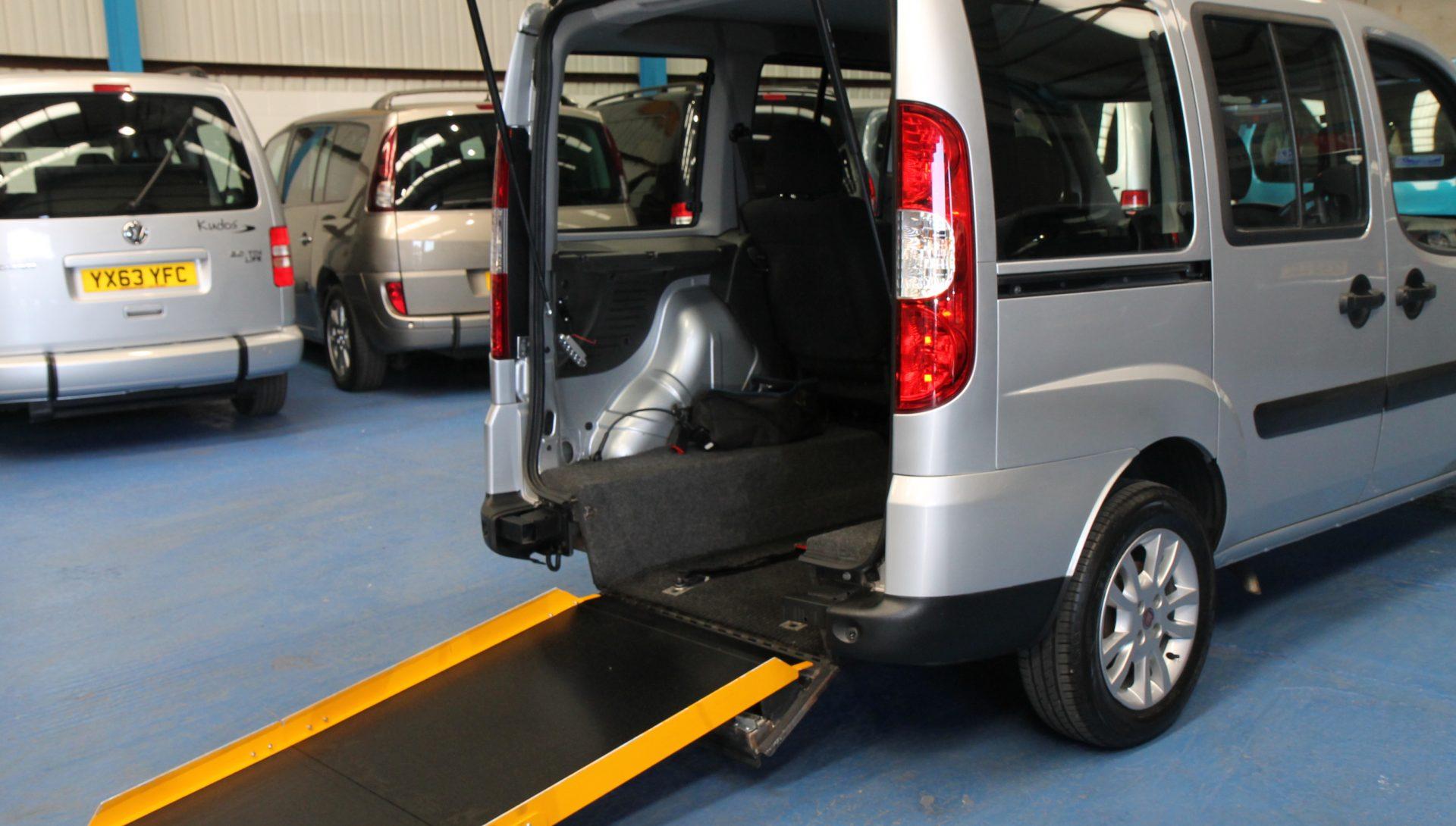 Doblo Wheelchair accessible car nk11 (1)