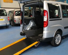 Doblo Wheelchair accessible car nk11 (1)