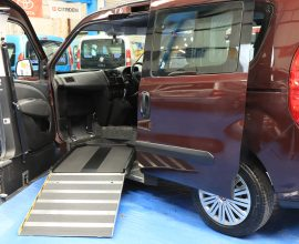 Doblo Side Entry Wheelchair Upfront md64 cxe
