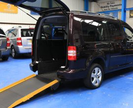Vw Caddy wheelchair vehicle nk15 cge