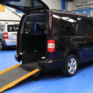 Vw Caddy wheelchair vehicle nk15 cge