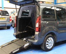Partner wheelchair vehicle sf14 dzt