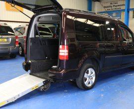 Vw Caddy wheelchair vehicle nk15 dbo