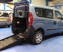 Doblo Wheelchair vehicle yy68 awa