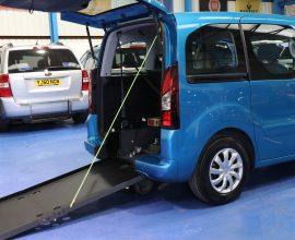 Berlingo wheelchair vehicle dxz 7544